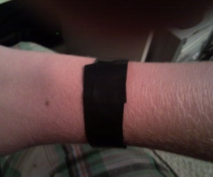Electric Tape Bracelets (duct Tape If You Choose)
