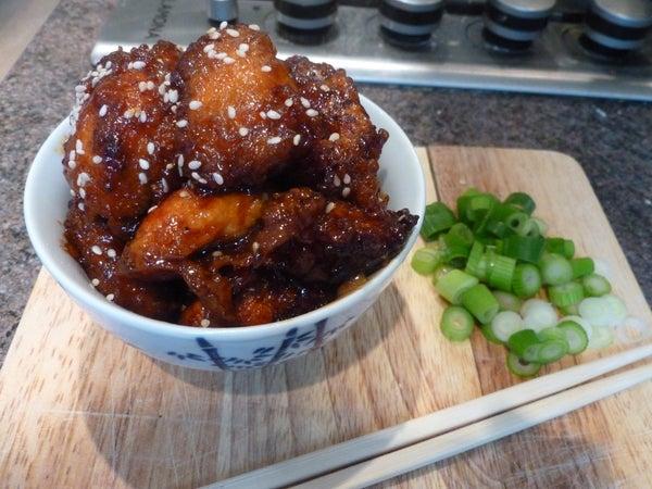 Chinese Honey & Sesame Seed Chicken