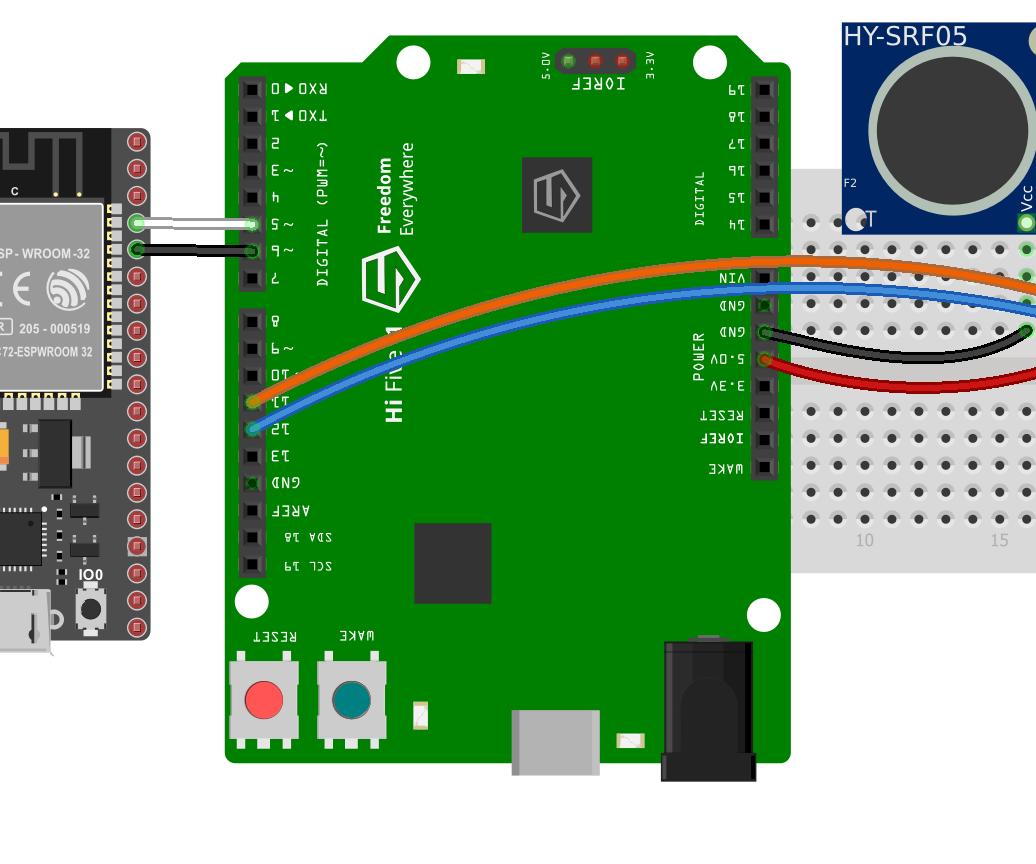 HiFive1 Arduino Intruder Detection With MQTT Alerts Using ESP32 or ESP8266