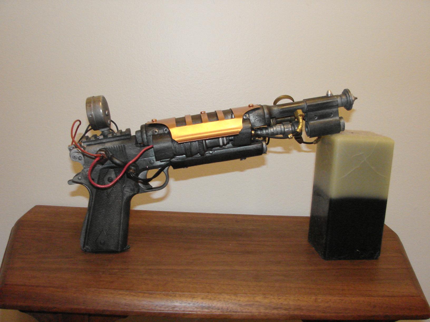 "Steampunk Pistol Gun ""Shrink Ray"""