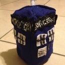 How to make a stuffed TARDIS
