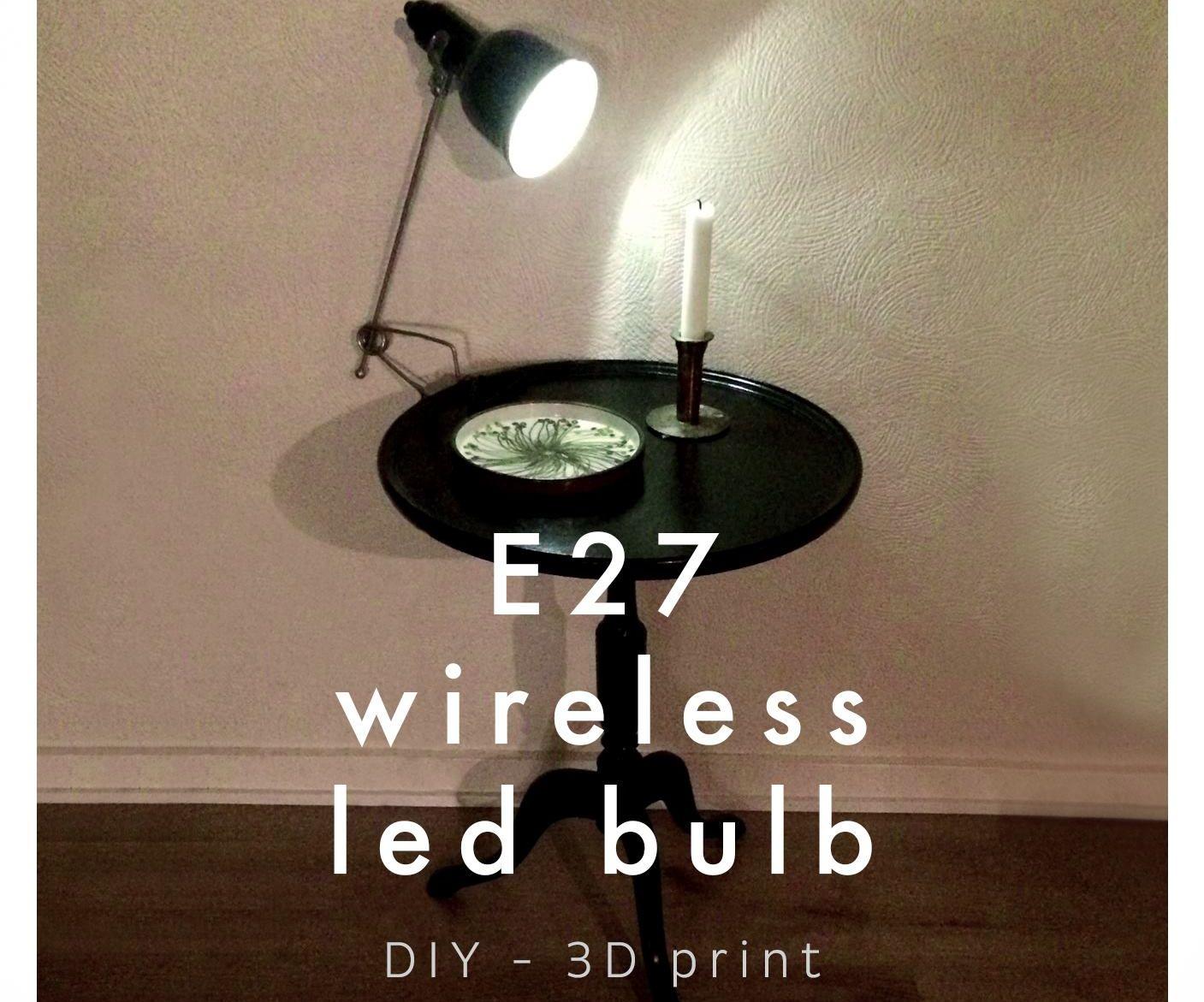 E27 Wireless LED Bulb
