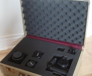Convert Old Suitcase Into Camera Case
