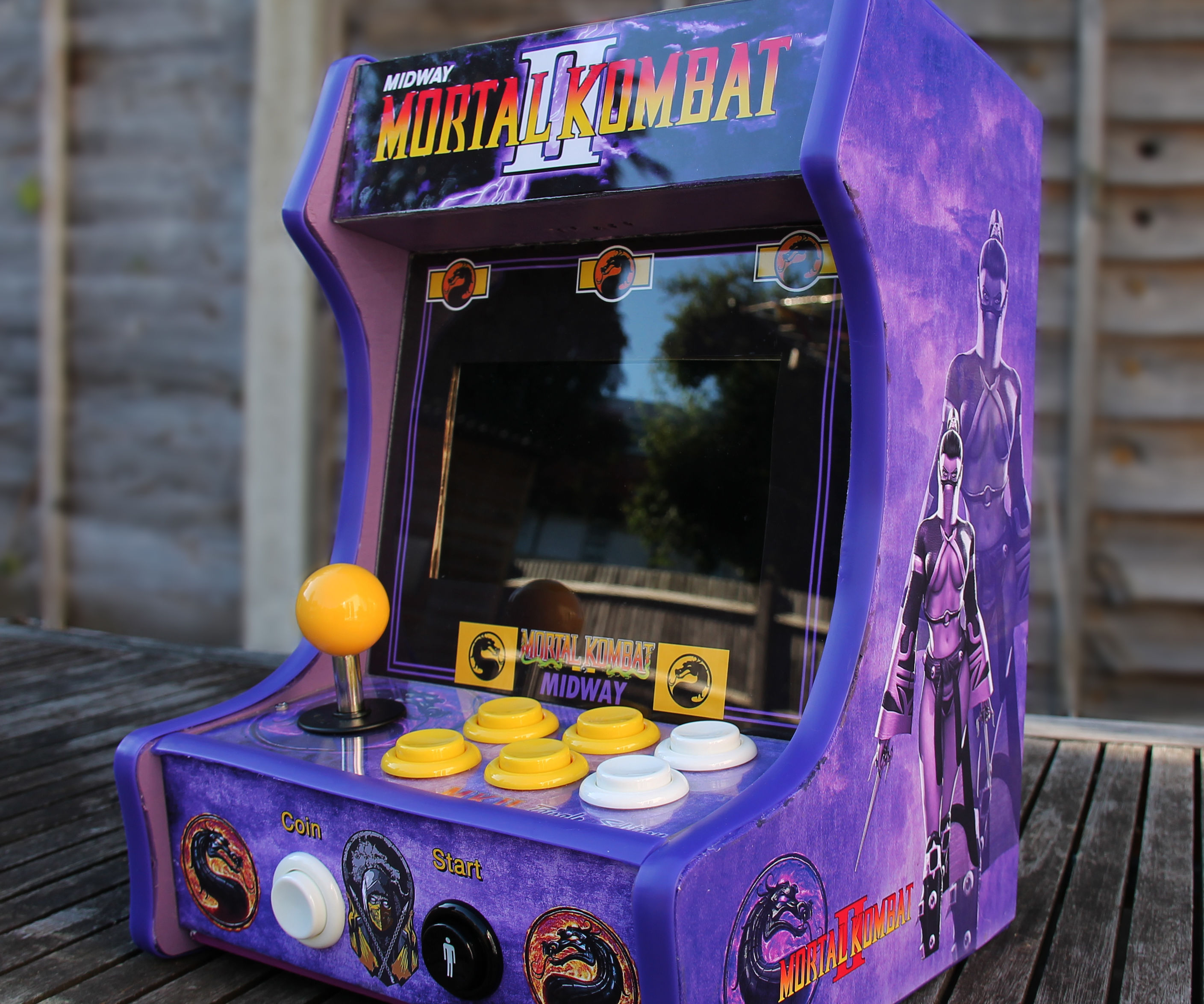 Mortal Kombat II - Purple Edition *Desktop Arcade* With Retropie