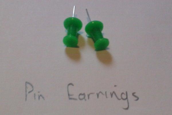 Pin Earrings