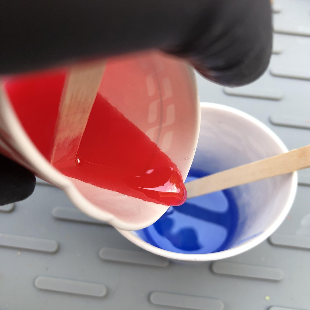 Resin Basics - How to Mix Resin Colors