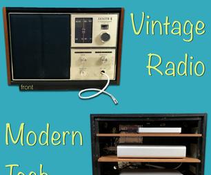 Vintage Radio for Modern Tech