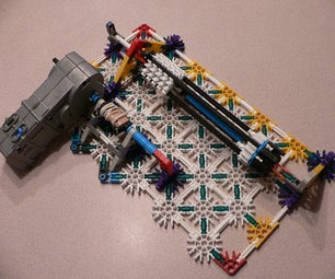 Knex Rubber Band Gun Turret.