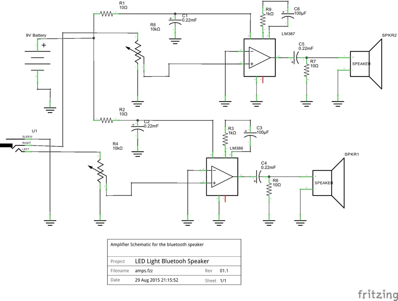 Assembling the Amplifier