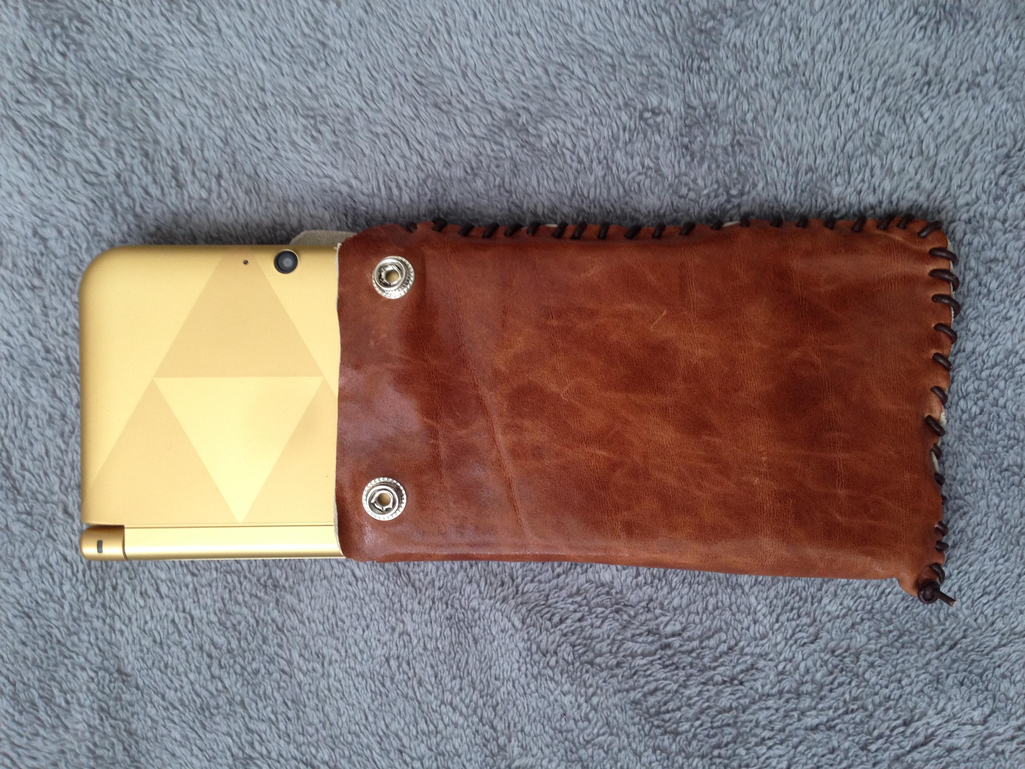 Nintendo 3DS XL Leather Case