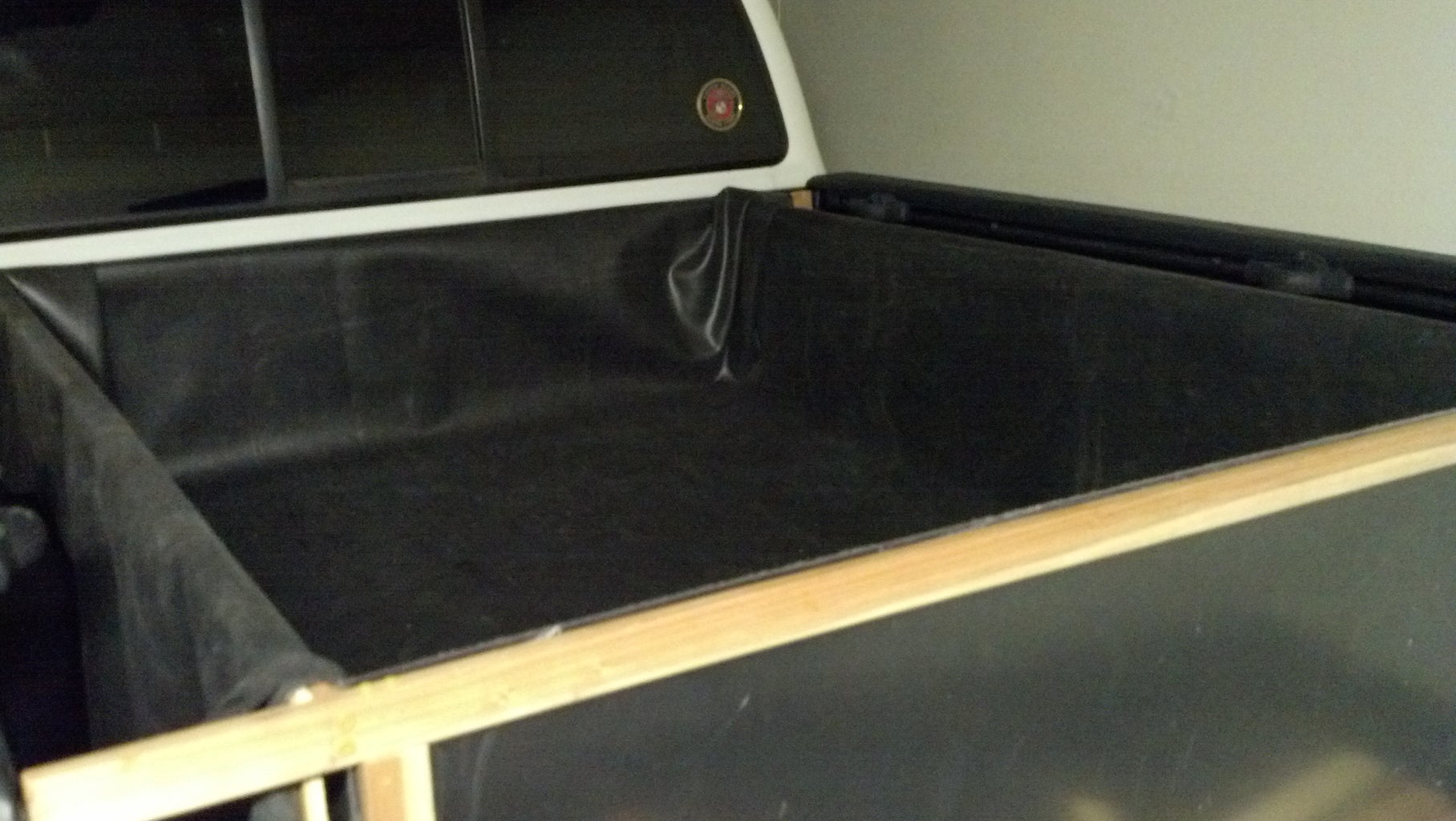Line the Bed With EPDM Liner