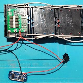 DIY Professional 18650 Battery Pack