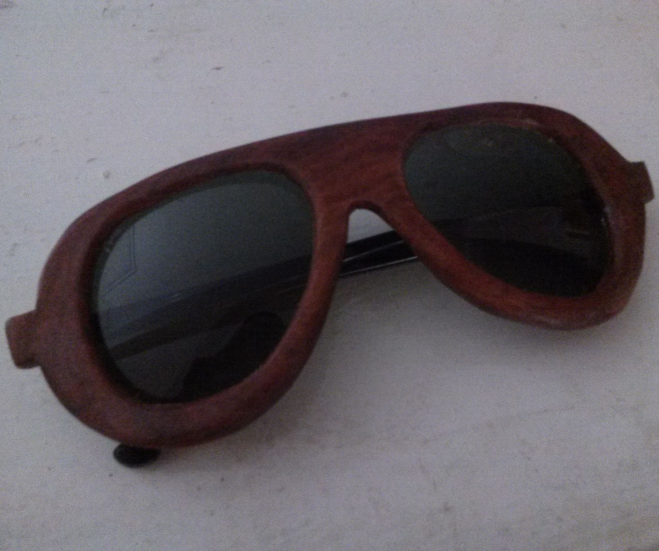 Handmade wooden aviator sunglasses  (no-laser cutter)