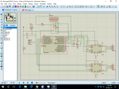 Arduino  Circuit/Schematic & PCB Layout