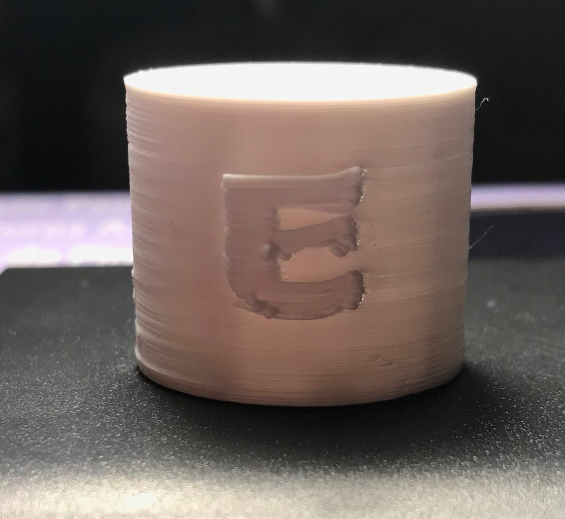 3D Printing a Tiny Mug