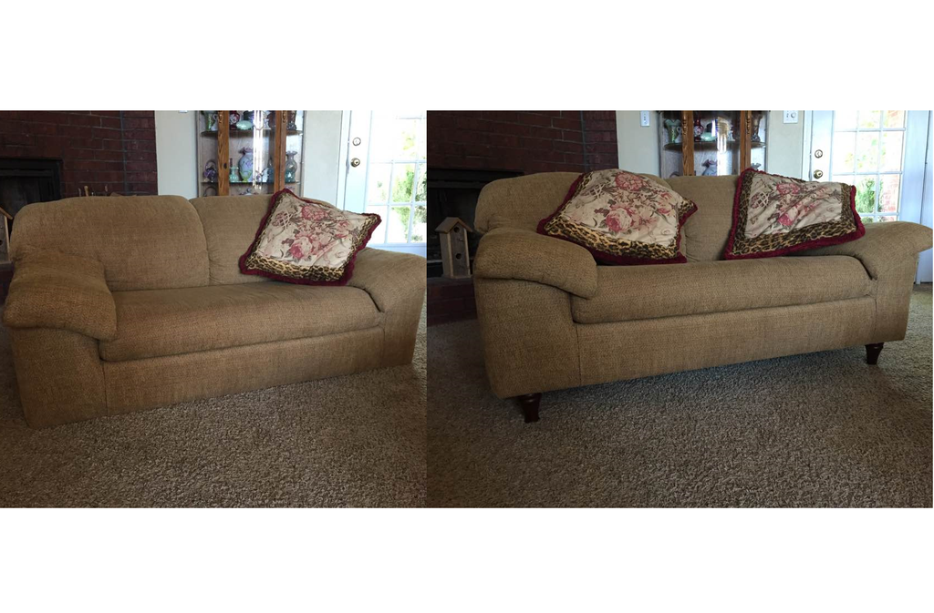 Couch Legs Adding Or Changing 5, How To Attach Sofa Legs