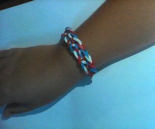How to Make a Taffy Braid Rainbow Loom Bracelet