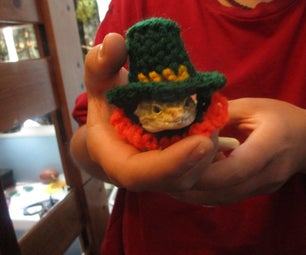 Tiny Crochet Leprechaun Hat