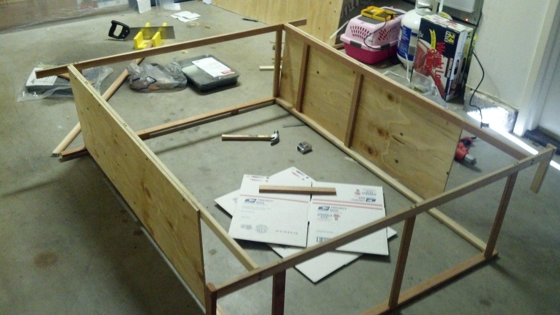 Begin Building the Frame
