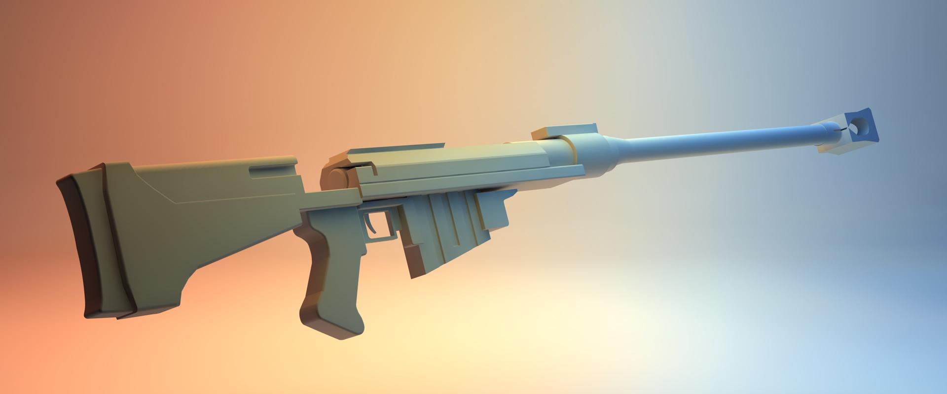 how to design a 3d printable replica gun