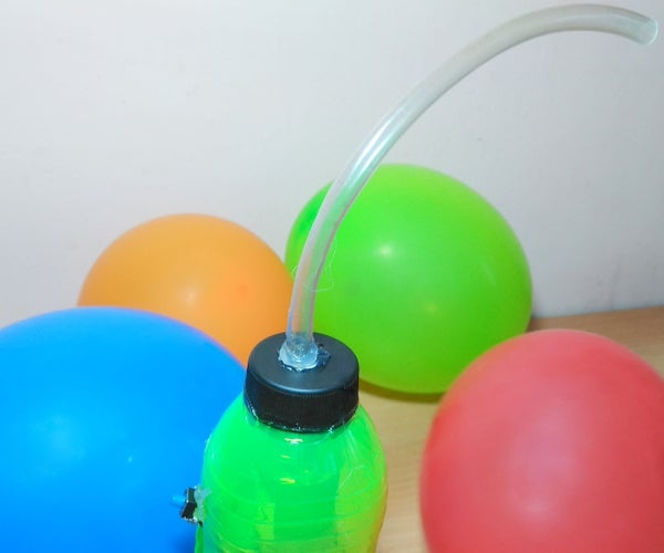 How to Make Air Pump for Balloons - Easy Project