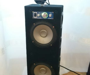 Boombox: Reuse Old Car Speakers