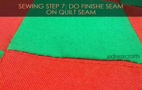 PLACEMATS SEWING STEP 7