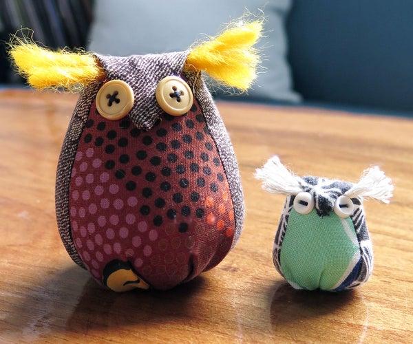 """""""Little Bird"""" Sewn Toys"""