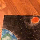 How to Draw a Picture of Earth From Space in Oil Pastel
