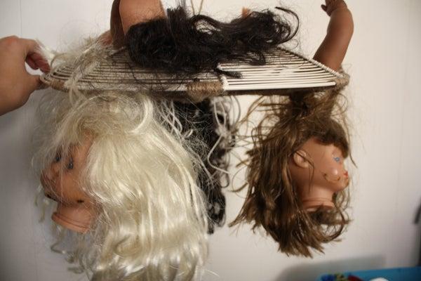 Beheaded Doll Night Light