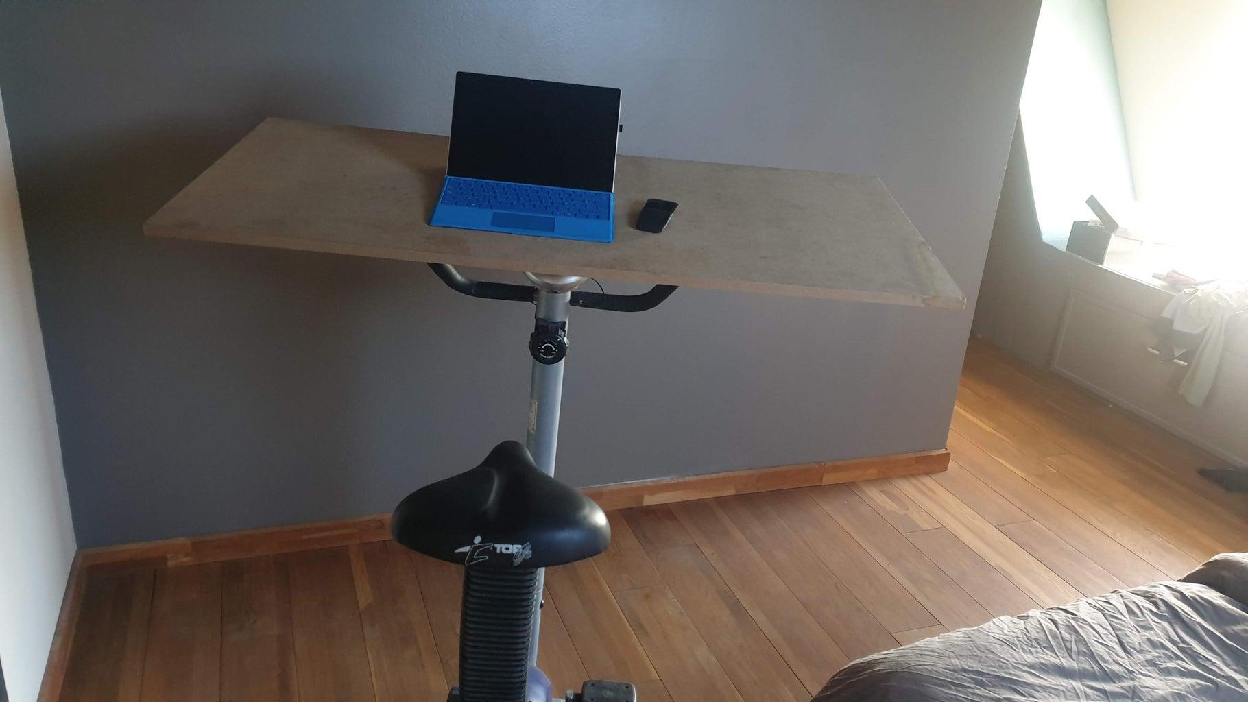 Cycle While Homeworking