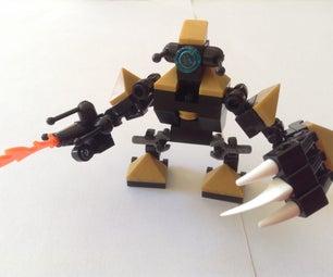 How to Make a Lego Robot Mech