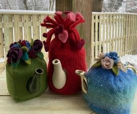 Recycled Sweater Tea Pot Cozy