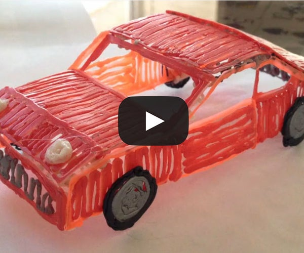 How to Make a Car With the 3doodler!
