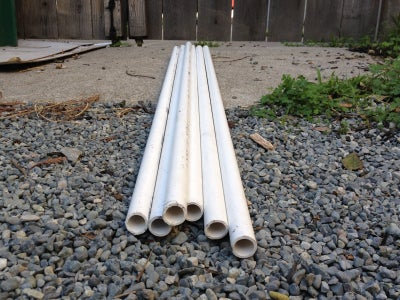 Get PVC Pipe and Paint