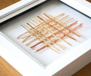 DIY编织手杖和铜艺|墙饰项目