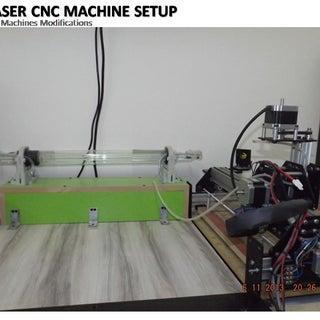 Shapeoko 2 CO2 Laser Upgrades