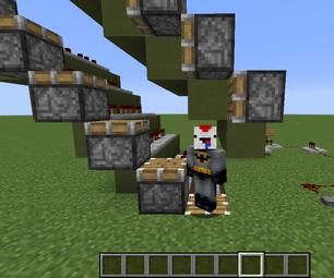 Minecraft: Simple Working Escalator Tutorial