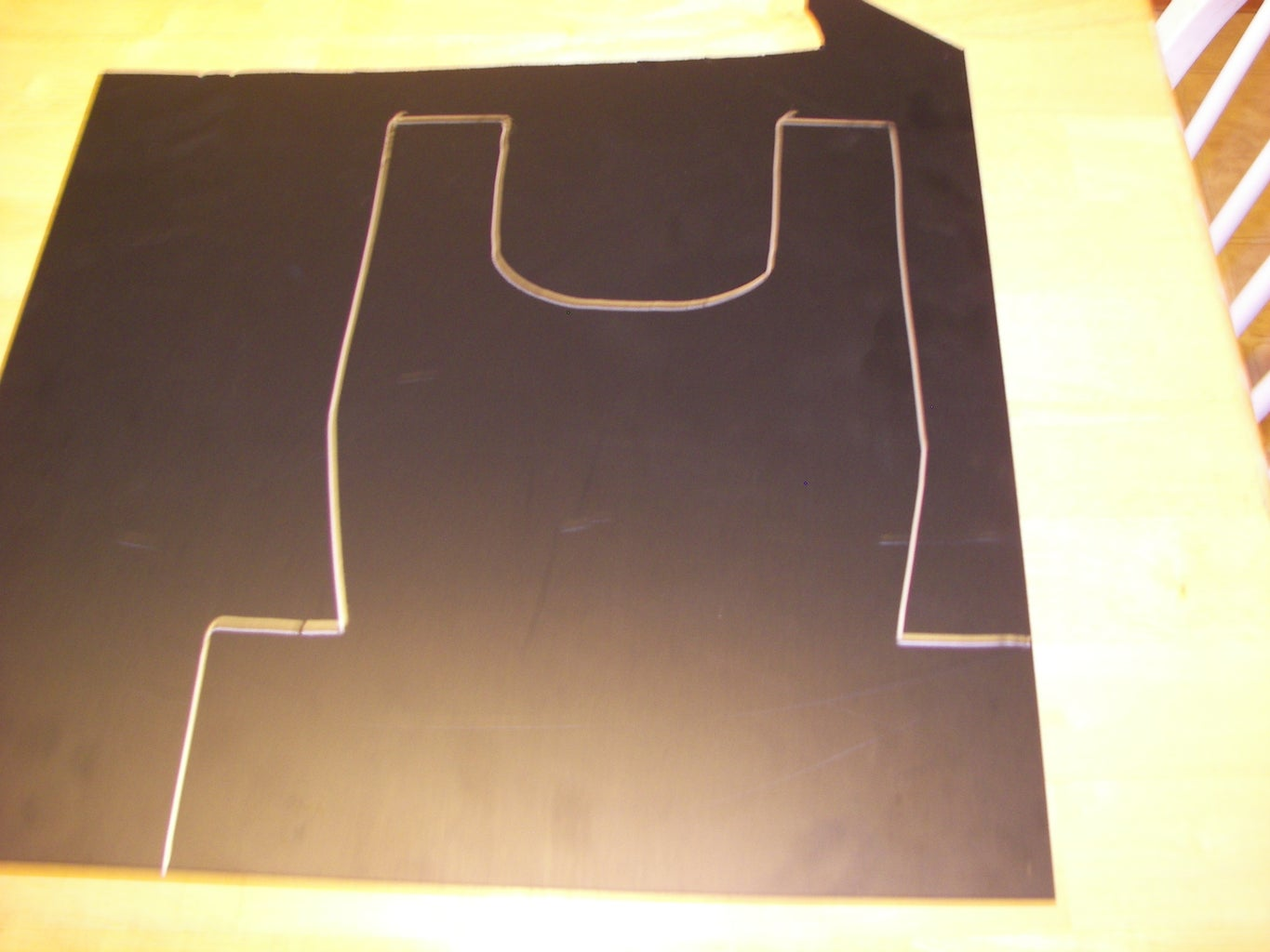 Making the Chest and Back Plate
