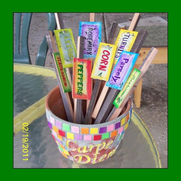 Artful Garden Stakes to Grace Your Garden
