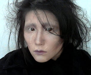 Edward Scissorhands - No Need for Special Effects Make Up!