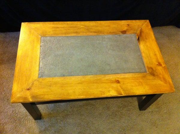 Concrete Lack: Ikea Table Hack