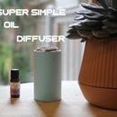 Super Simple Oil Diffuser (Out of a Can)