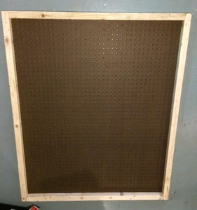 Frame Out the Pegboard