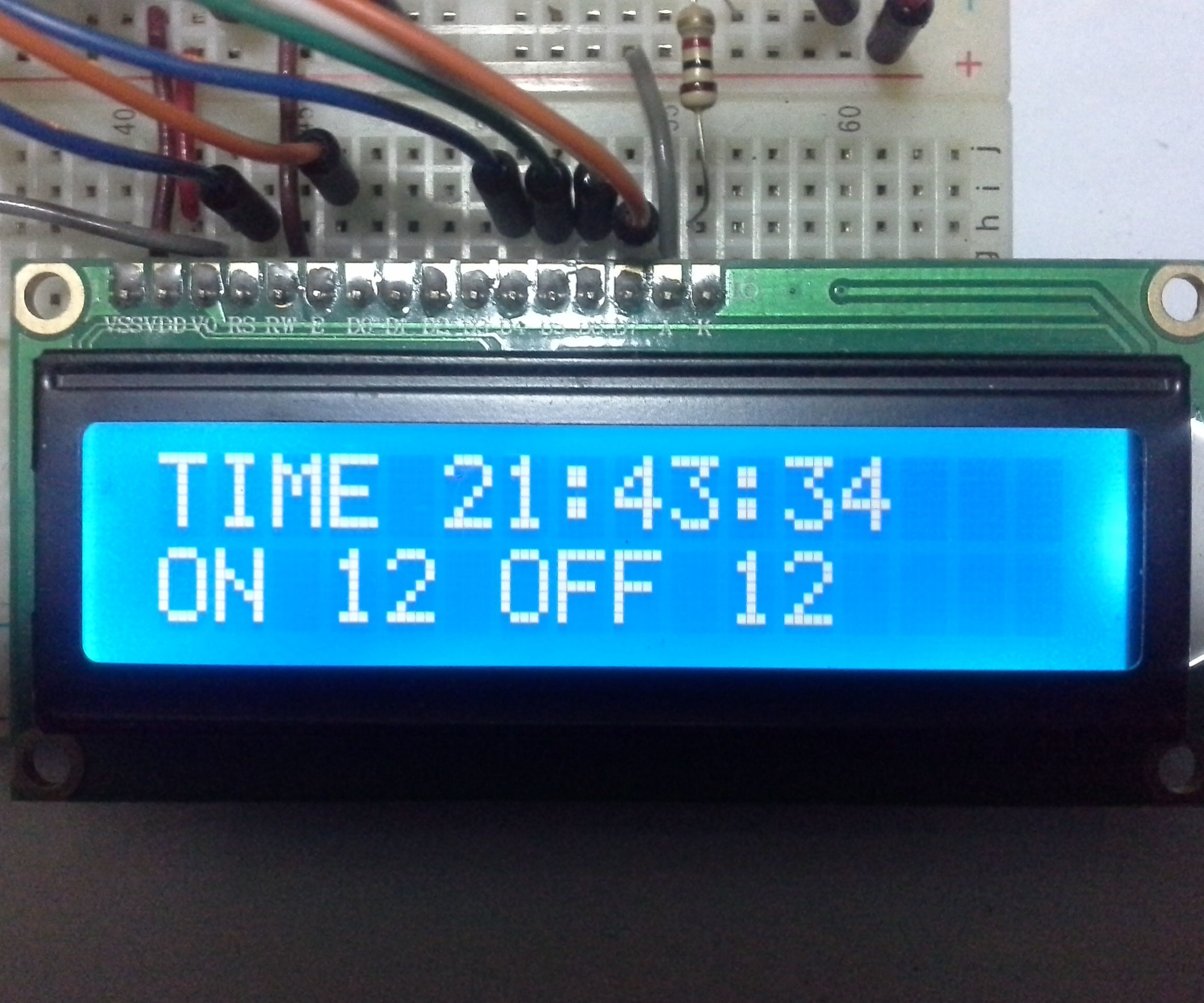 Arduino Timer With On/Off Set Point