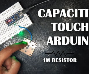 Arduino Capacitive Touch Setup