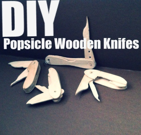 DIY Popsicle Swiss Army Knife