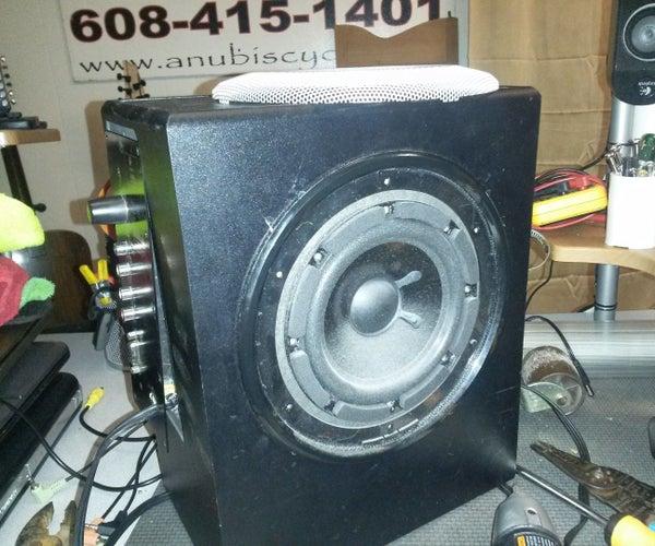 How to Fix a Dead Logitech X-530 Speaker System