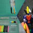 Recycling Used Pens Into an Action Figure