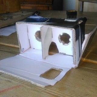 DIY You Virtual Reality Headset - Google Cardboard